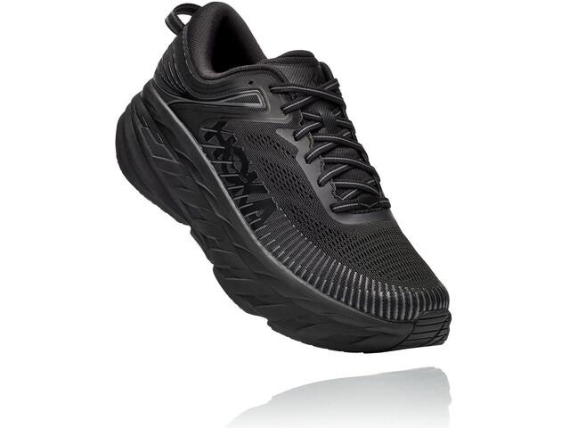 Hoka One One Bondi 7 Wide Running Shoes Women, negro